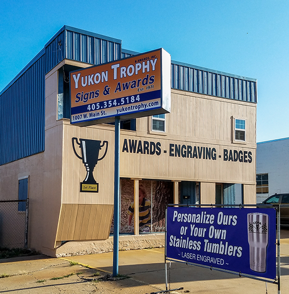 Yukon Trophy building