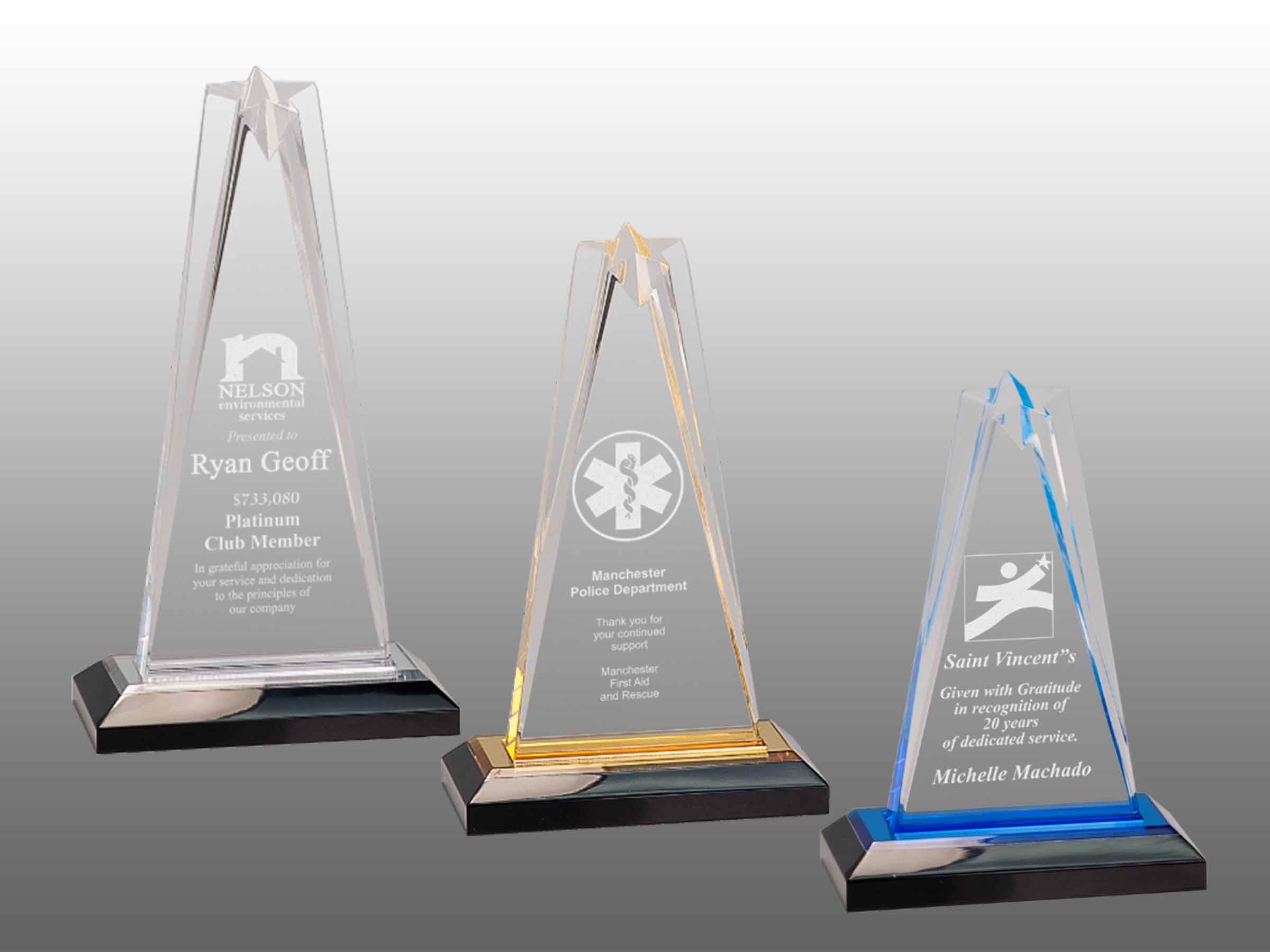 Star Impress Acrylic 6 Yukon Trophy